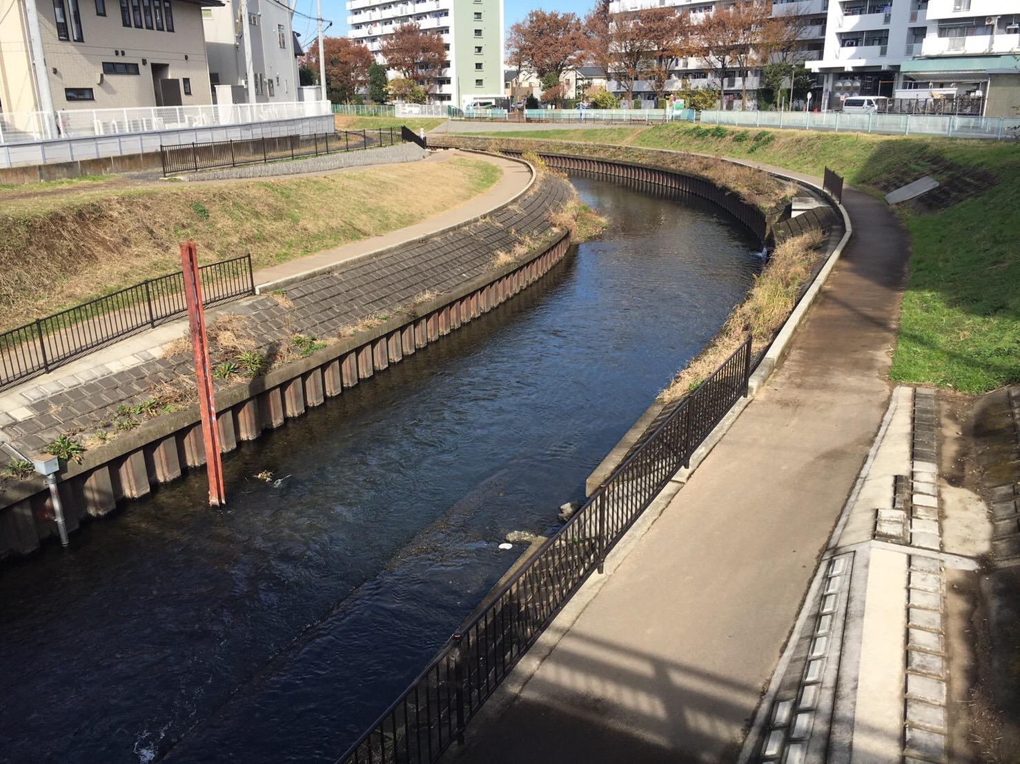川のまるごと再生プロジェクト推進工事(新座大橋遊歩道整備工)