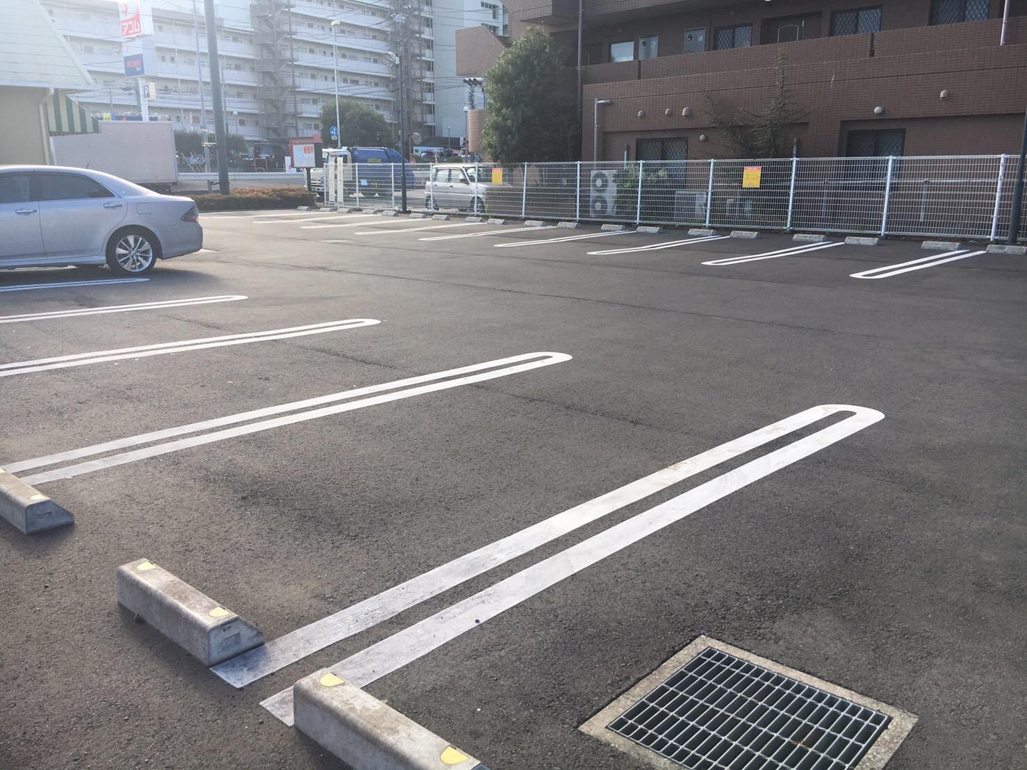 店舗駐車場工事